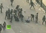 Police Brutality at Tahrir Square